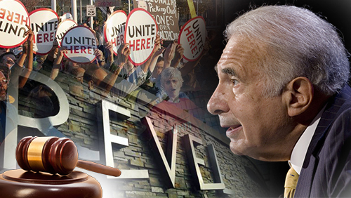 AC union protests outside Icahn's office; judge approves Revel tax breaks