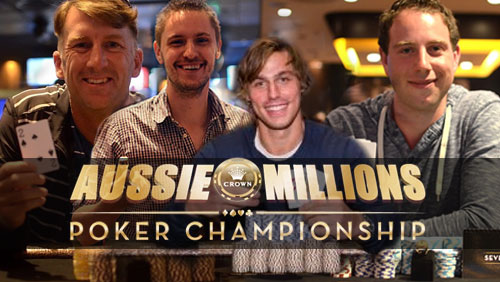 Aussie Millions Update: Trevallion, O'Reilly, Dodge and Mackoff Secure Side Event Victories