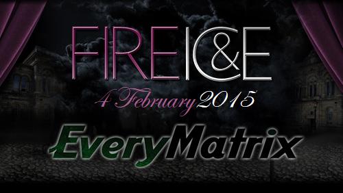EveryMatrix to Sponsor Fire & Ice 2015