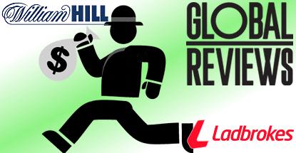 William Hill the biggest thief of Ladbrokes' digital customers