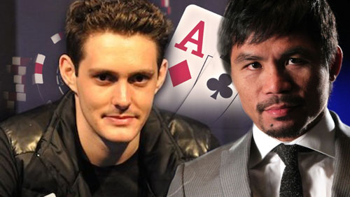 Manny Pacquiao Bluffed by Poker Star