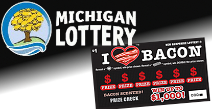 """Michigan Lottery online sales """"going well;"""" New Hampshire bacon-scented scratchers"""