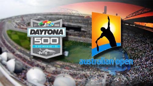 On Deck: Odds on Australian Open, Daytona 500; Bettor cashes on 10-team parlay