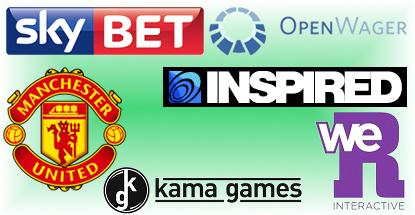 Social gaming deals: Sky Betting & Gaming, Manchester United, Inspired Gaming