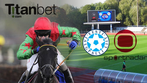 Titanbet extends horse racing sponsorship; Estonia football tops-up with Sportradar