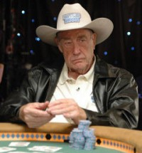 Doyle Brunson Prepares for Surgery by … Playing Poker