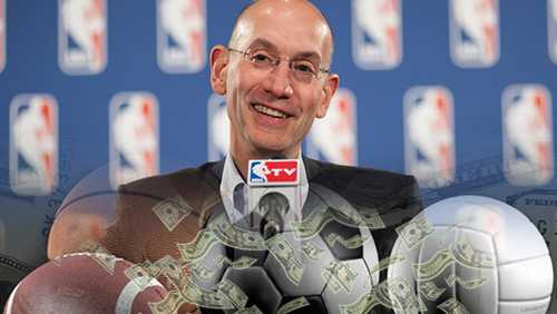 Adam Silver has approached other commissioners about legalizing sports betting