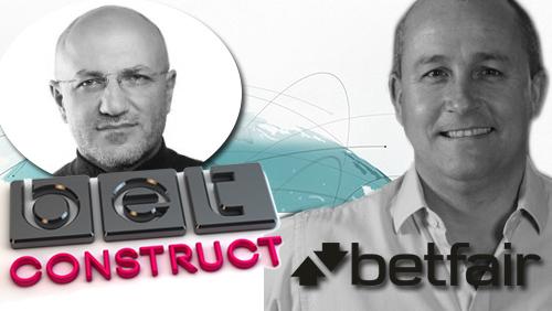 BetConstruct announces Vahe Baloulian as new CEO; Ian Chuter departs Betfair