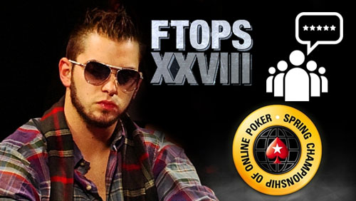 Dipthrong on FTOPS XXVIII; PokerStars Act on SCOOP Customer Feedback