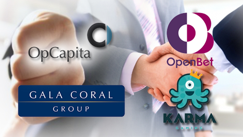 Gala Coral denies talks with OpCapita; Karma Gaming confirms distribution deal with OpenBet