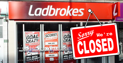 Ladbrokes to close another 50 betting shops