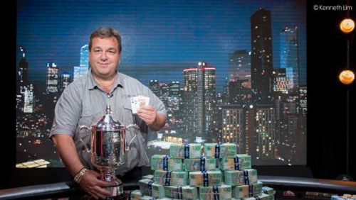 Manny Stavropoulos Wins the 2015 Aussie Millions Main Event