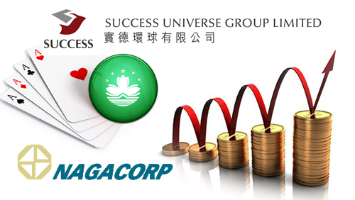 NagaCorp reports increased GGR; Success Universe eyes Macau license