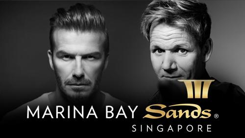 David Beckham/Gordon Ramsay tie-ups with Marina Bay Sands