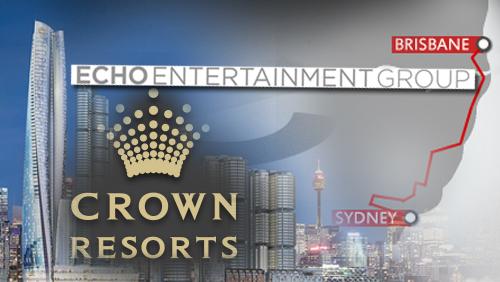 Echo plans to relocate HQ in Brisbane; Crown clears hurdles for Sydney Crown