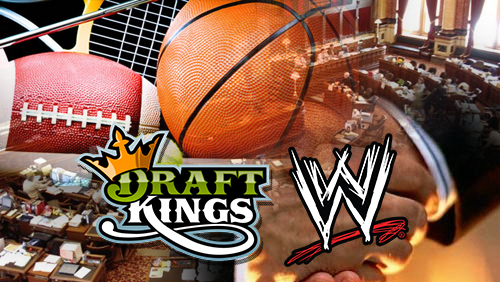 Iowa, Kansas make moves to pass daily fantasy sports bills; DraftKings partners with WWE