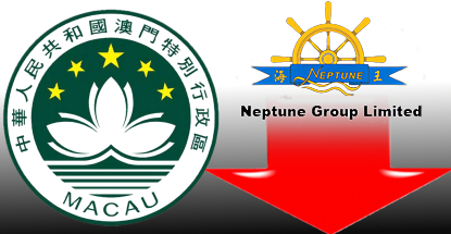 "Macau casino revenue falls 49%; Neptune profits ""more disappointing"" than hoped"