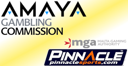 Amaya receives UK gambling licenses; Pinnacle gets Malta license