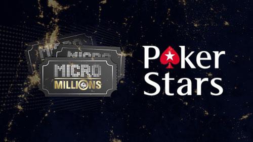PokerStars to Guarantee $5 Million During MicroMillions Series