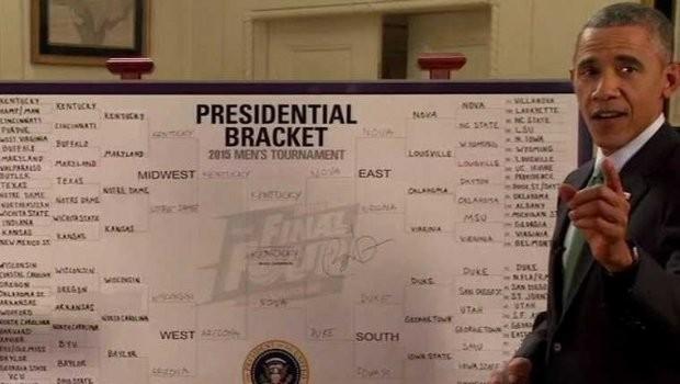 President Barack Obama's NCAA Tournament Bracket