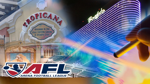 Tropicana revenue gains; Borgata eyeing expansion; AC to host Arena Football