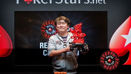 Yuguang Li Wins the Macau Poker Cup Red Dragon