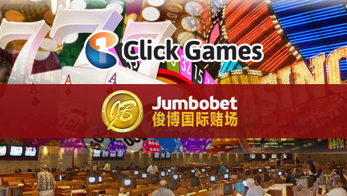 1Click Games launches an online casino and sportsbook for Jumbobet