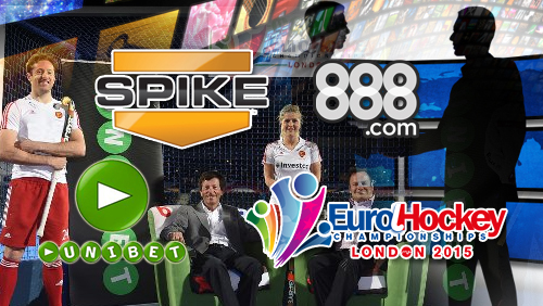 888.com to sponsor new UK TV channel; Unibet deals with EuroHockey Championships