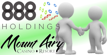 888 Holdings inks online gambling deal with Pennsylvania's Mount Airy Casino