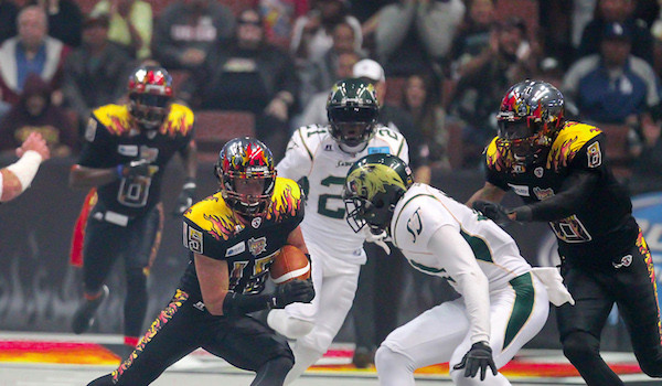ARENA FOOTBALL TEAM JOINS VEGAS BETTING HOUSE