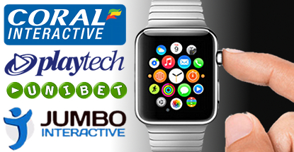 Coral, Unibet, Jumbo Interactive seek Apple Watch early adopters
