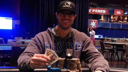 Chris Russell Wins Cherokee's Largest Ever Tournament