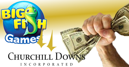 Big Fish Games is Churchill Downs Inc's top earner in Q1
