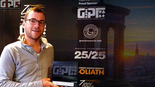 James Mitchell wins GUKPT Edinburgh