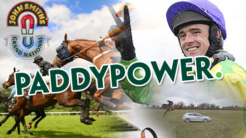 Paddy Power Grand National ad: Ruby Walsh jumps his horse over a moving car