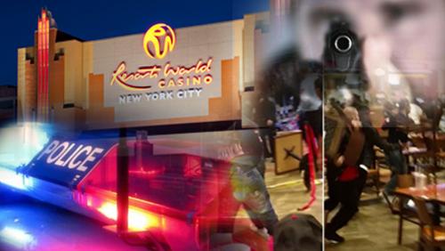 Wild brawl erupts at Resorts World New York