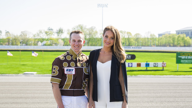 Sports Illustrated Swimsuit Cover Model Shakes Up Yonkers Raceway
