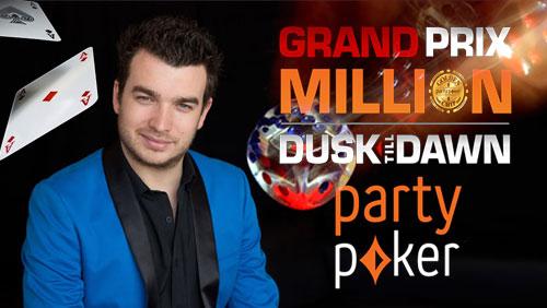 Chris Moorman Wins 25th Online Triple Crown; Partypoker Grand Prix Million Facing Huge Overlay