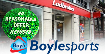 Boylesports reportedly negotiating for Ladbrokes Irish retail business