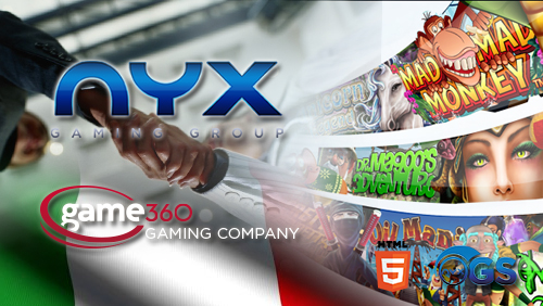 NYX Gaming Group acquires Game360 to enter Italian market