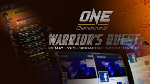 One: Warrior'S Quest Brings Fans All The Action Live On Pay-Per-View May 22