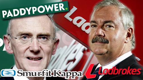 Peter Erskine to step down as Ladbrokes Chairman; Smurfit Kappa CEO eyes Paddy Power chairmanship