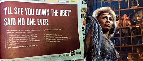 Tabcorp takes public potshot at Tatts' new UBET betting brand