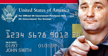 US military personnel charged gambling and escorts to gov't credit cards