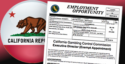 California guv's former spokesman named chairman of Gambling Control Commission