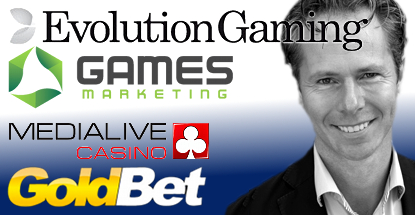 Evolution Gaming inks Games Marketing deal, appoints new Malta CEO