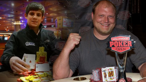 Keven Stammen Wins the Hollywood Poker Open Main Event