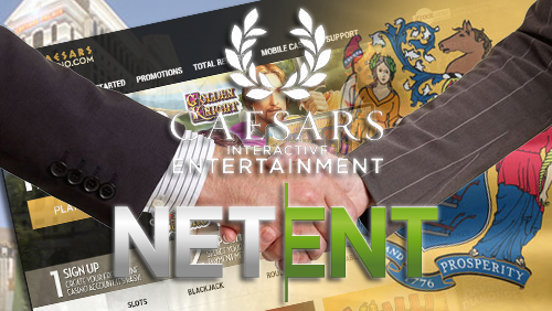 NetEnt enters agreement with Caesars Interactive Entertainment in New Jersey