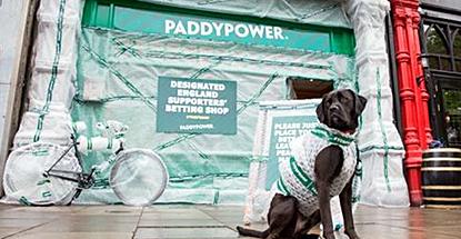 Paddy Power 'yob-proof' Dublin betting shop against English football hooligans