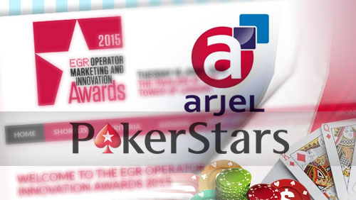 PokerStars Win Brand of the Year at the EGR Operator Marketing and Innovation Awards 2015, and also Secure French License Renewal